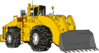 Vehicle equipment construction loader 1 clip art