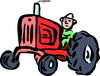 agriculture tractor clip art