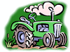 agriculture tractor01 clip art