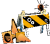 construction barrier cones clip art