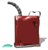 firefighting dripping gas can clip art