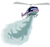 firefighting helicopter clip art
