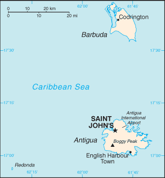 Country Antigua and Barbuda