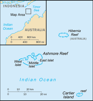 Country Ashmore and Cartier Islands