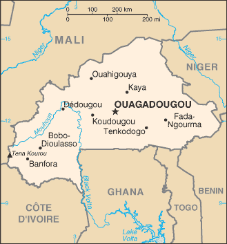 Country Burkina Faso