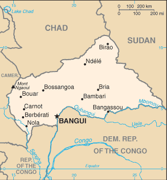 Country Central African Republic