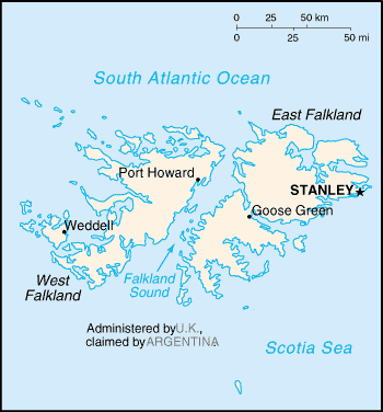 Country Falkland Islands