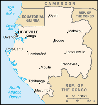 Country Gabon