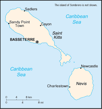 Country Saint Kitts and Nevis