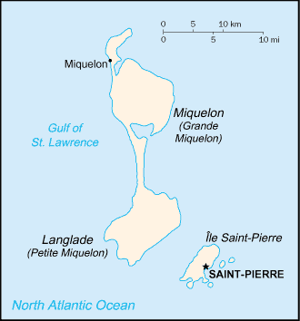 Country Saint Pierre and Miquelon