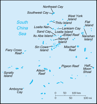 Country Spratly Islands