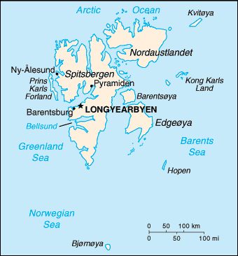 Country Svalbard