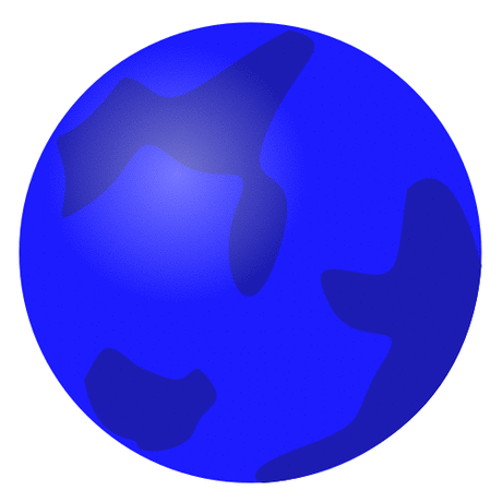 Earth Globe globe abstract blue