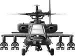 apache helicopter small