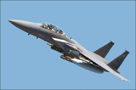 F 15E Strike Eagle USAF loaded