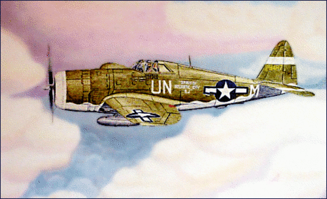 P-47 Thunderbolt color