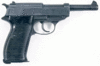 weapon gun P38 clip art