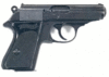 weapon gun PPK clip art