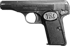 weapon gun Browning 1910