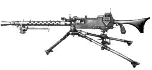 weapon gun Browning M1919 A6
