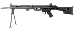 weapon gun HK21