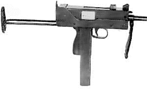 weapon gun Ingram Model 10
