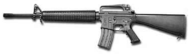 weapon gun M16 A2