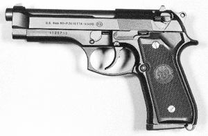 weapon gun Pistol Beretta 9mm