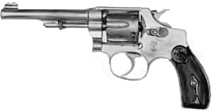 weapon gun Smith and Wesson Hand Ejector