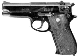 weapon gun Smith and Wesson Model 39