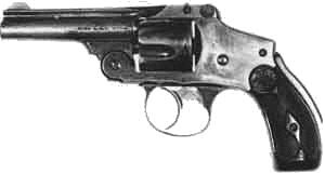 weapon gun Smith and Wesson Safety Hammerless