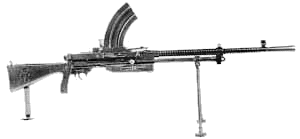 weapon gun Vickers Berthier