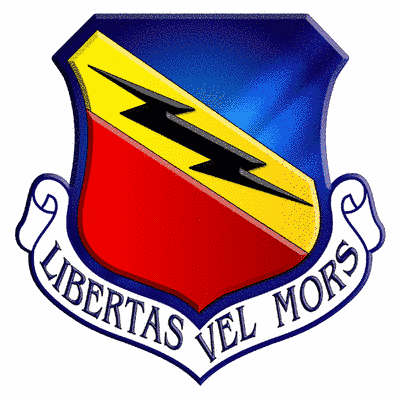 388th Fighter Wing Shield Color