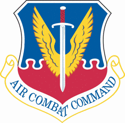 Air Combat Command shield