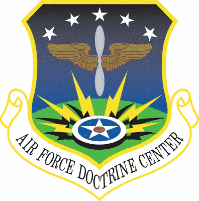Air Force Doctrine Center shield