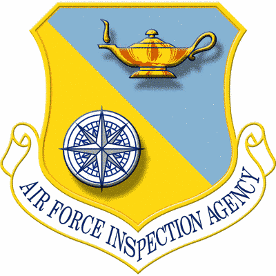 Air Force Inspection Agency shield