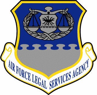 Air Force Legal Services Agency shield