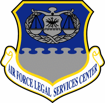 Air Force Legal Services Center shield