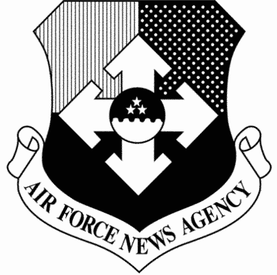 Air Force News Agency shield
