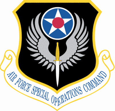 Air Force Special Operations Command shield