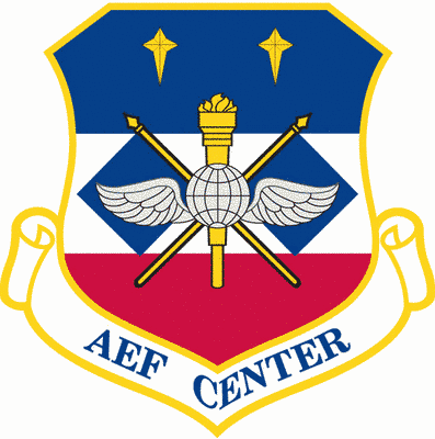 Air and Space Expeditionary Force Center shield