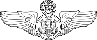 Chief Enlisted Aircrew badge command level