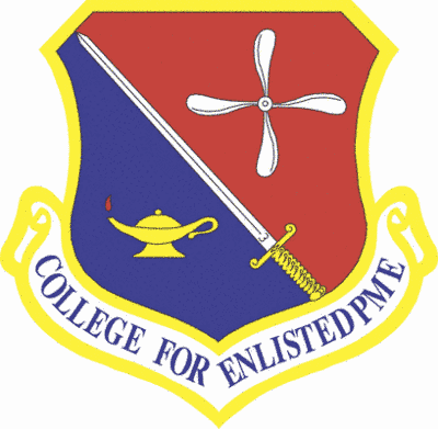 College Enlisted PME Shield