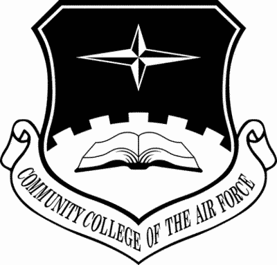 Community College of the Air Force Shield