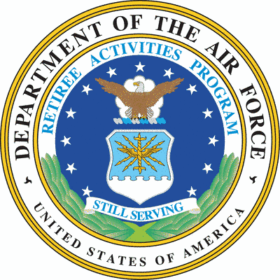 Department of the Air Force Retiree Activities Program seal