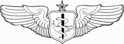 Flight Nurse badge Senior Level