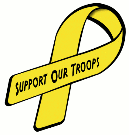 ribbon support our troops