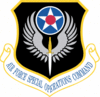 Air Force Special Operations Command shield clip art