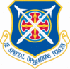 Air Force Special Operations Forces Shield clip art