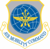 Air Mobility Command shield clip art